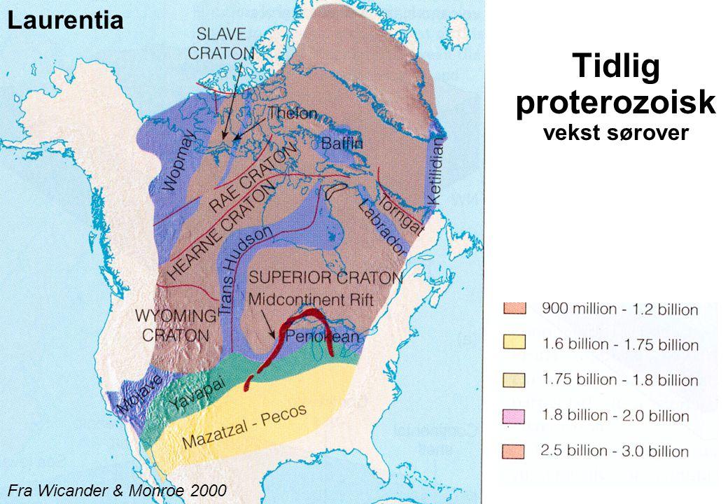 Tidlig proterozoisk vekst sørover