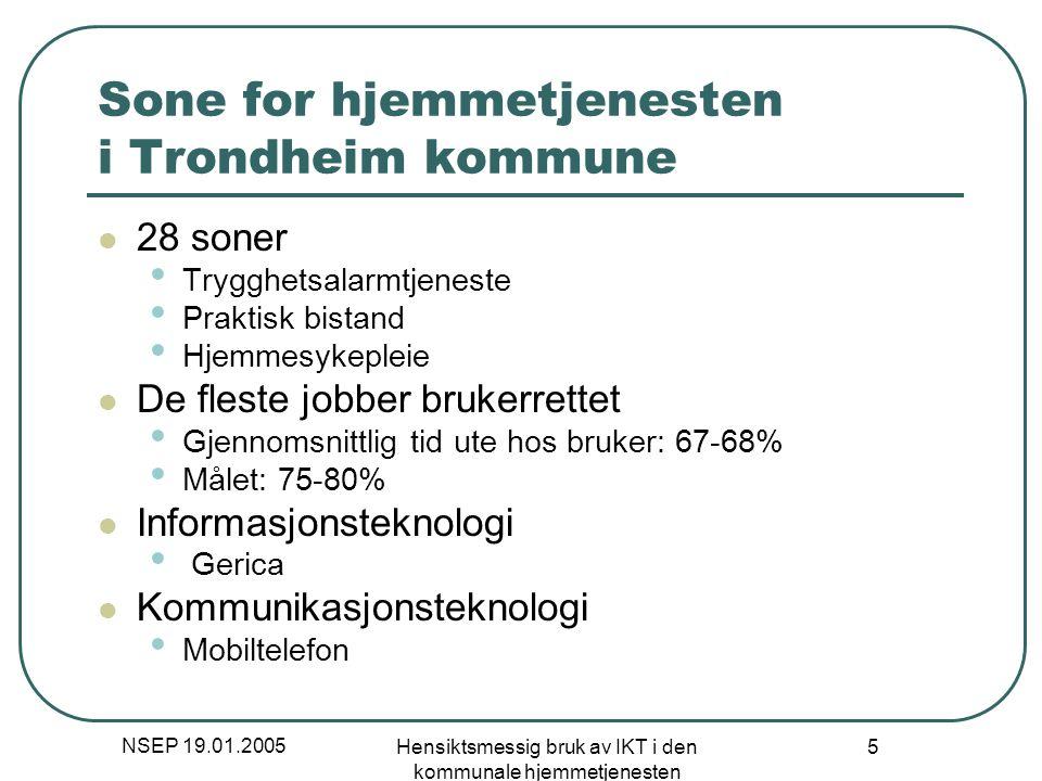 Sone for hjemmetjenesten i Trondheim kommune