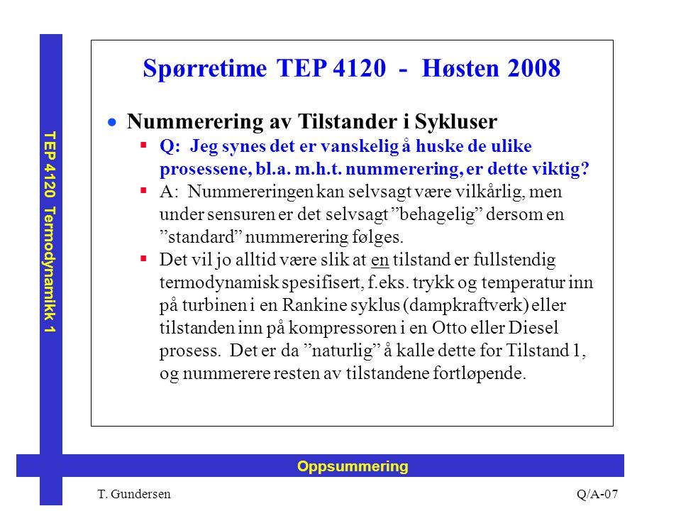 Spørretime TEP 4120 - Høsten 2008