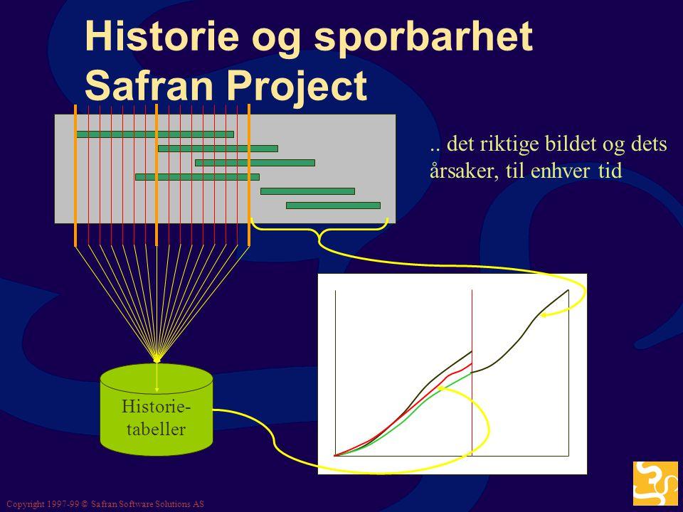 Historie og sporbarhet Safran Project