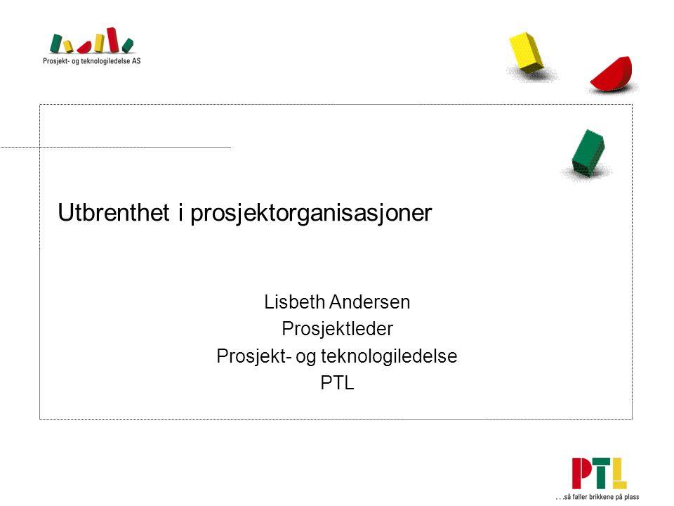 Utbrenthet i prosjektorganisasjoner