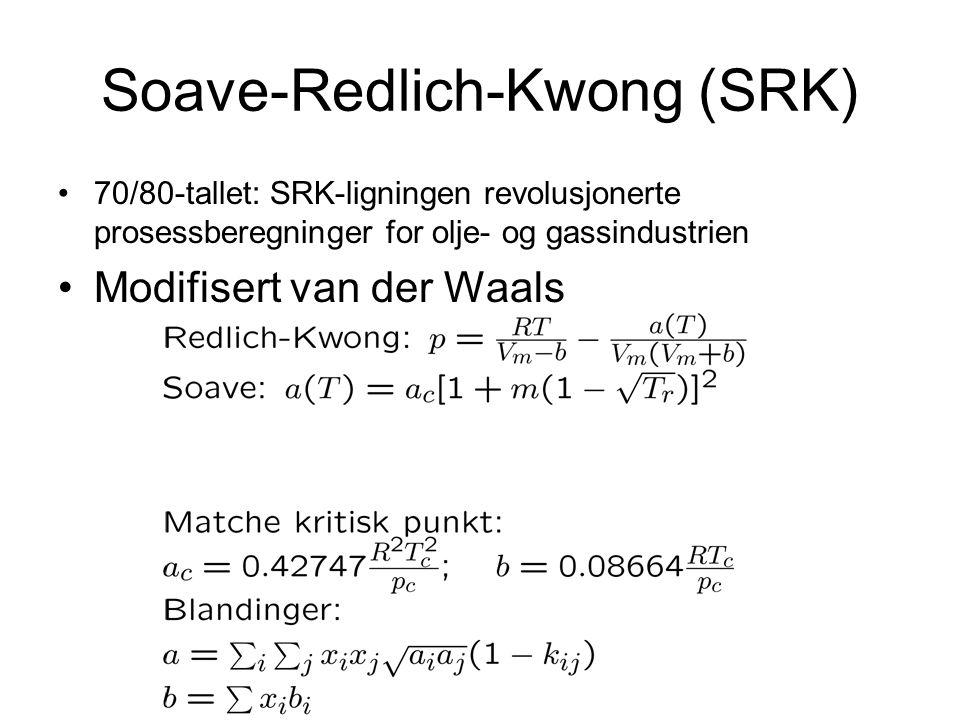 Soave-Redlich-Kwong (SRK)