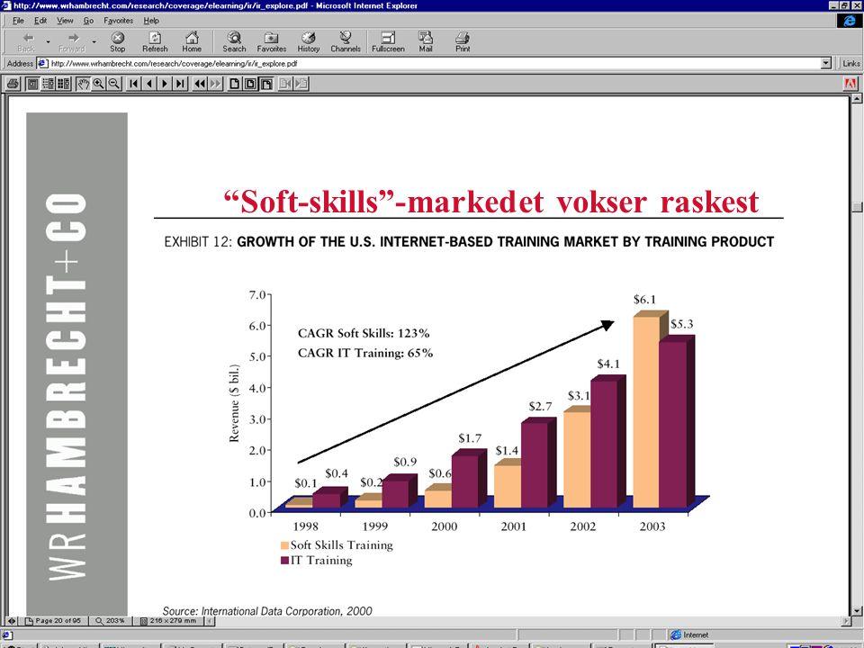 Soft-skills -markedet vokser raskest