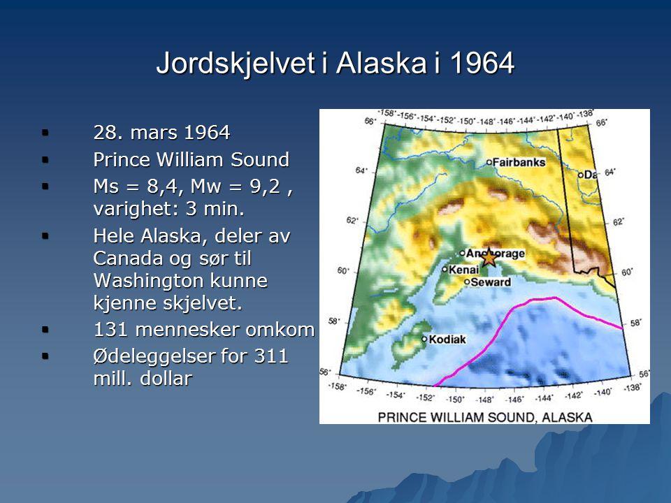 Jordskjelvet i Alaska i 1964