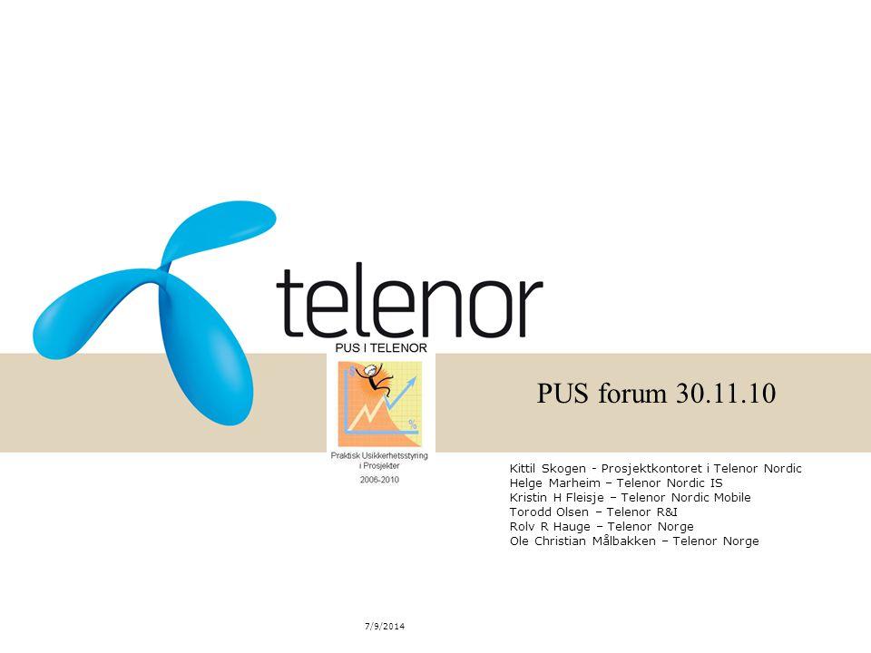 PUS forum 30.11.10