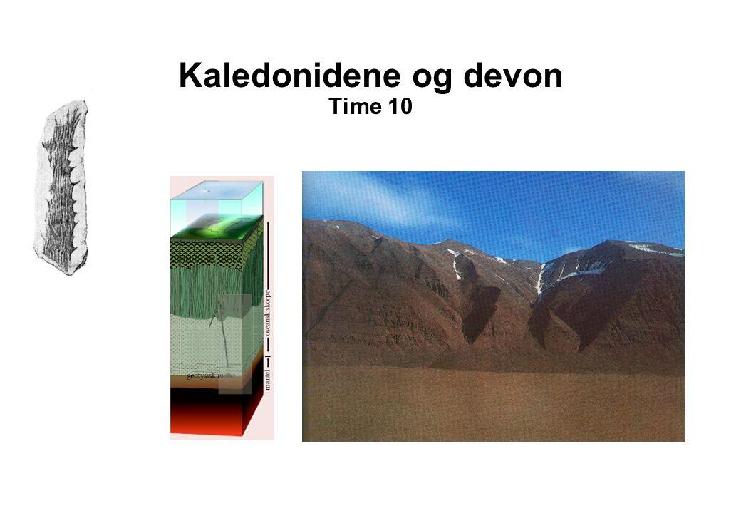 Kaledonidene og devon Time 10