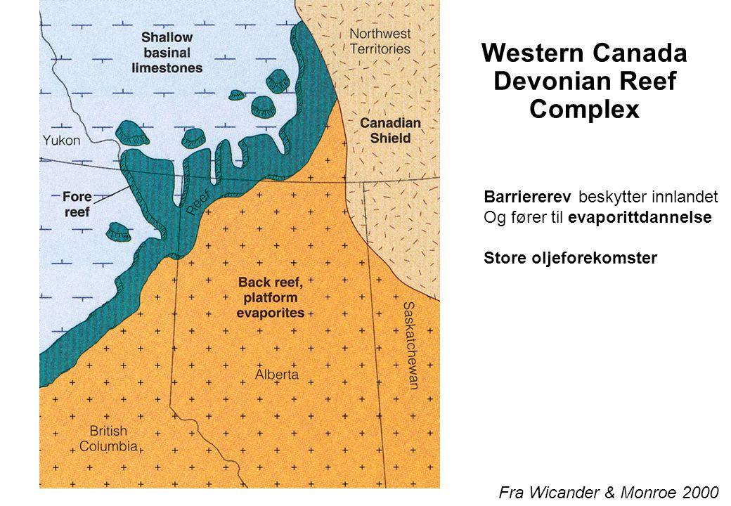 Western Canada Devonian Reef Complex