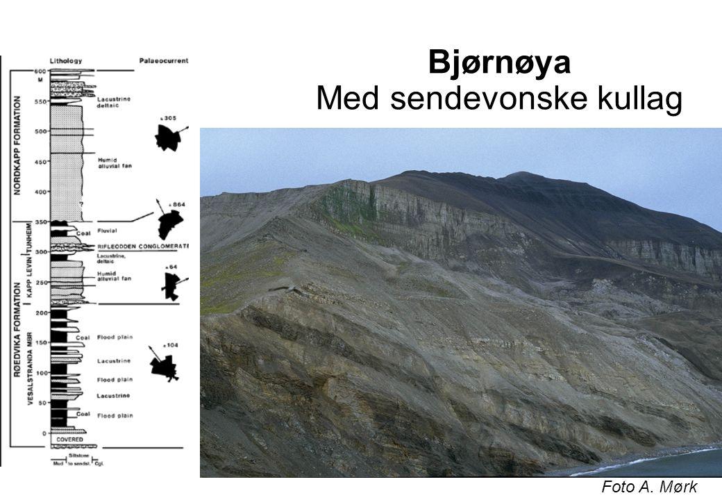 Bjørnøya Med sendevonske kullag