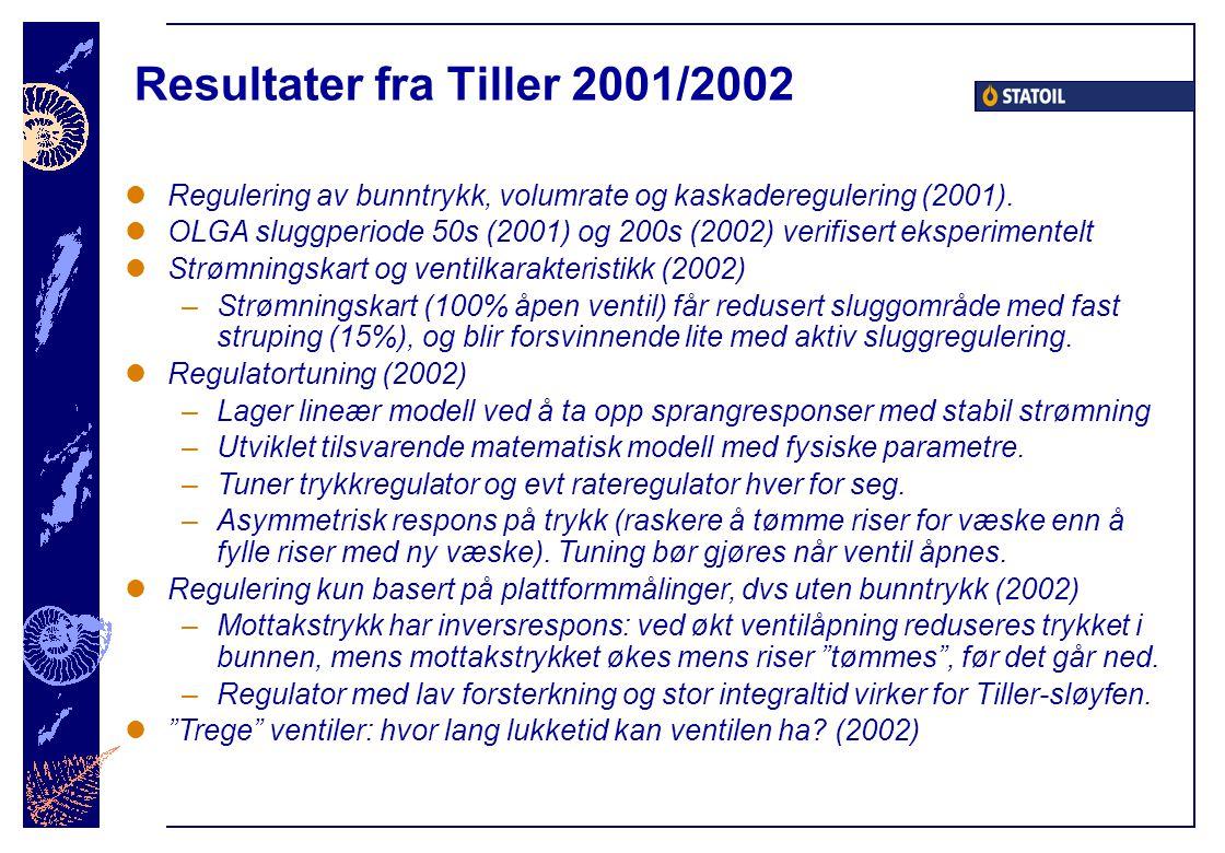 Resultater fra Tiller 2001/2002