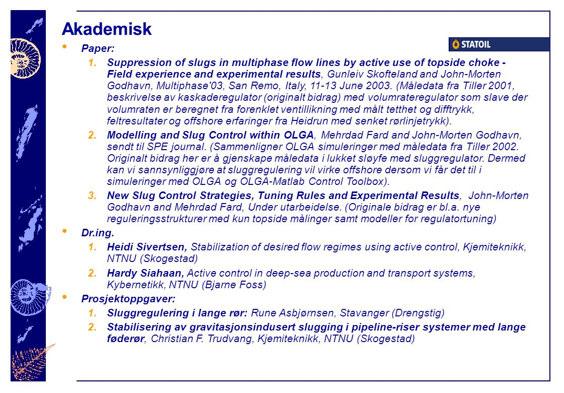 Akademisk Paper: