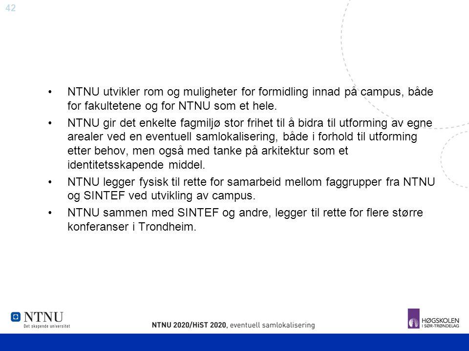NTNU utvikler rom og muligheter for formidling innad på campus, både for fakultetene og for NTNU som et hele.