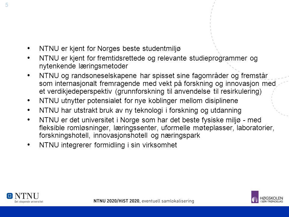 NTNU er kjent for Norges beste studentmiljø