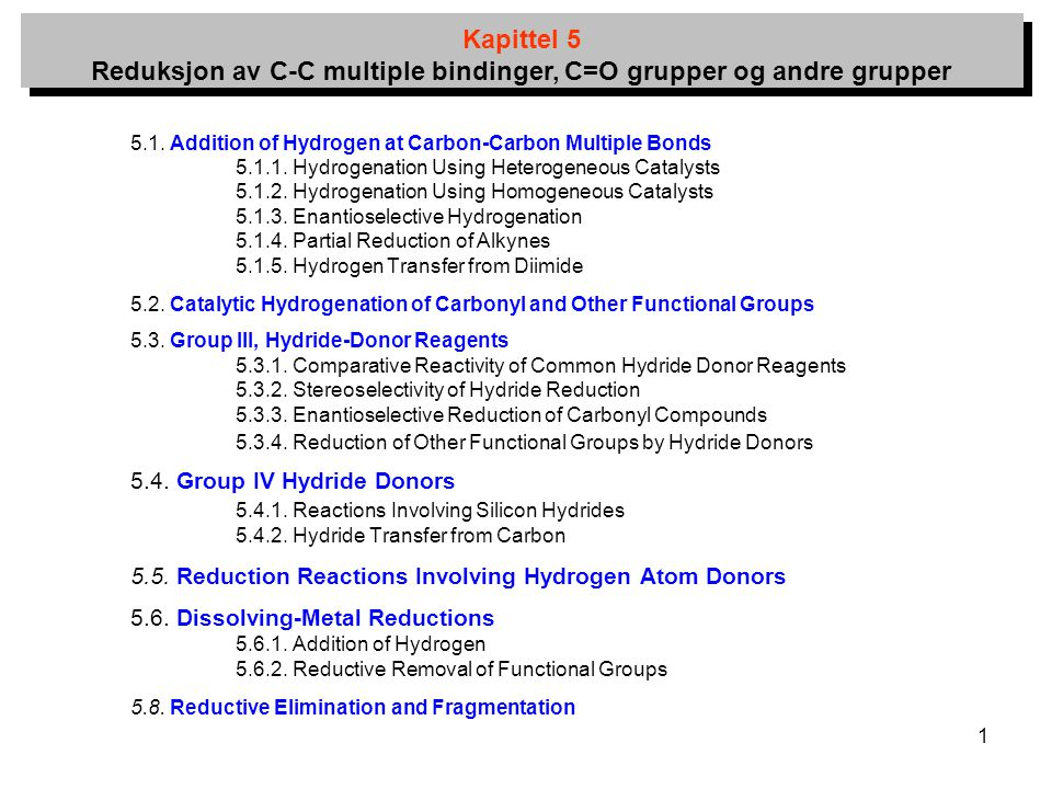 5.4. Group IV Hydride Donors