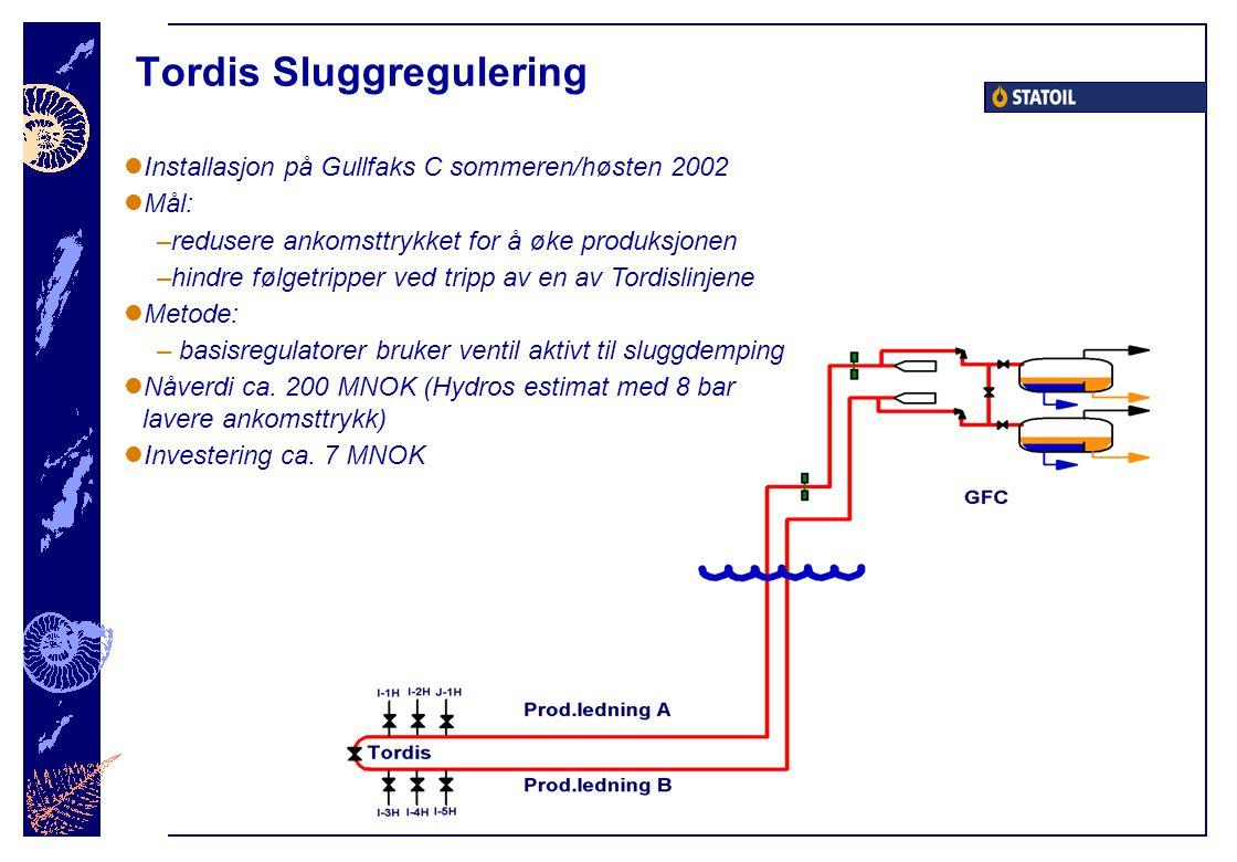 Tordis Sluggregulering