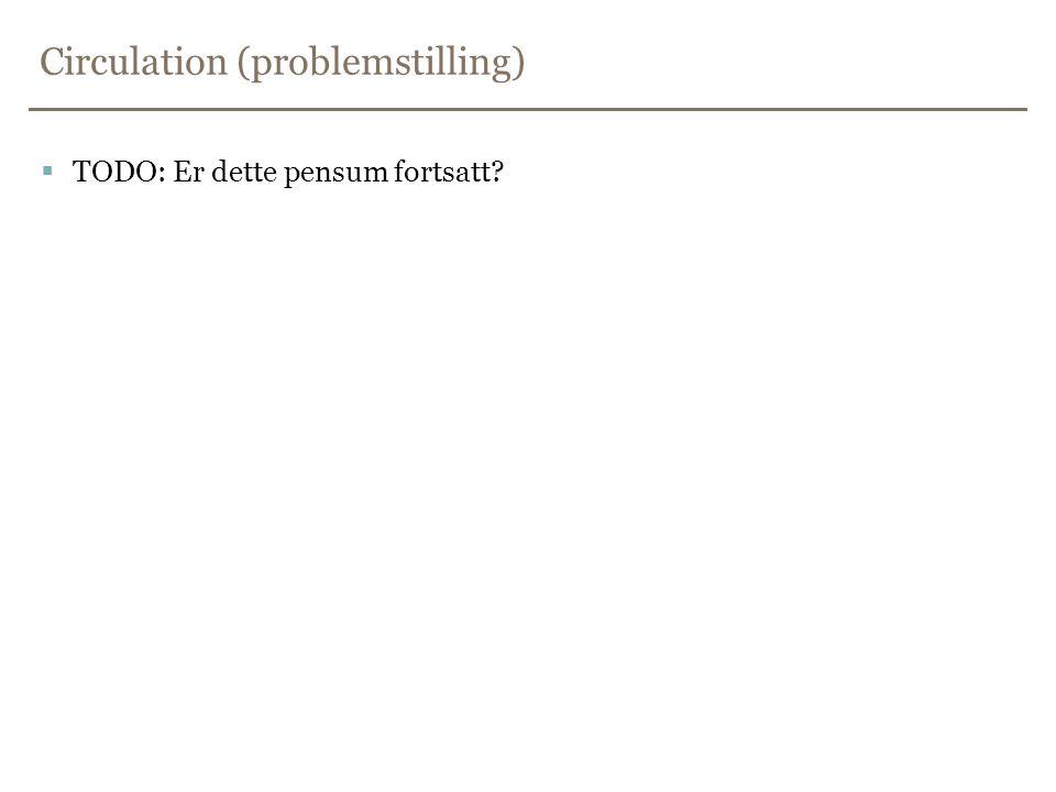 Circulation (problemstilling)