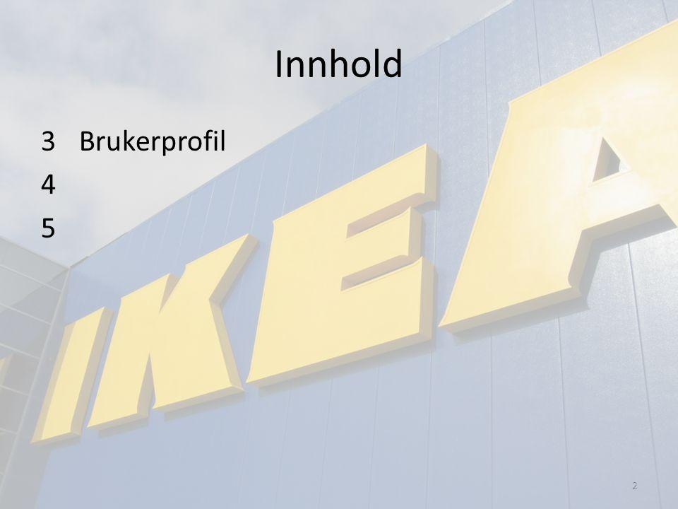 Innhold 3 Brukerprofil 4 5