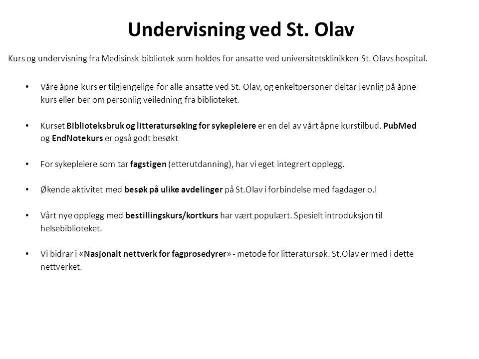 Undervisning ved St. Olav
