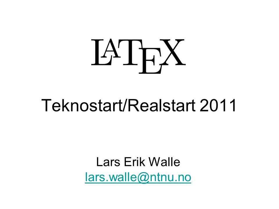 Teknostart/Realstart 2011
