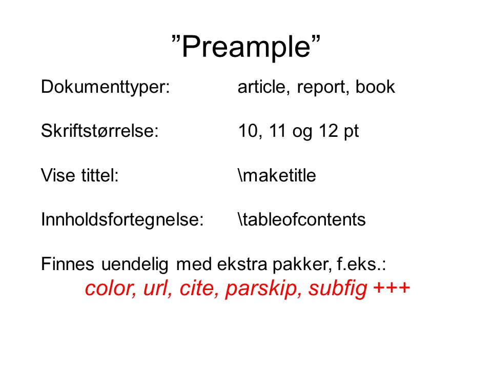 color, url, cite, parskip, subfig +++