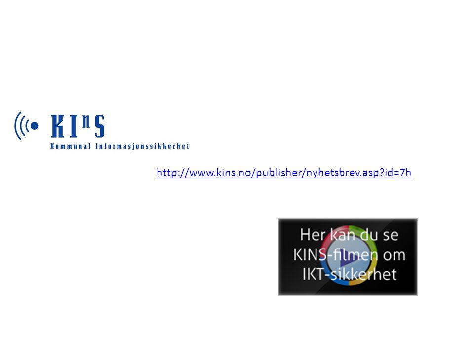 http://www.kins.no/publisher/nyhetsbrev.asp id=7h