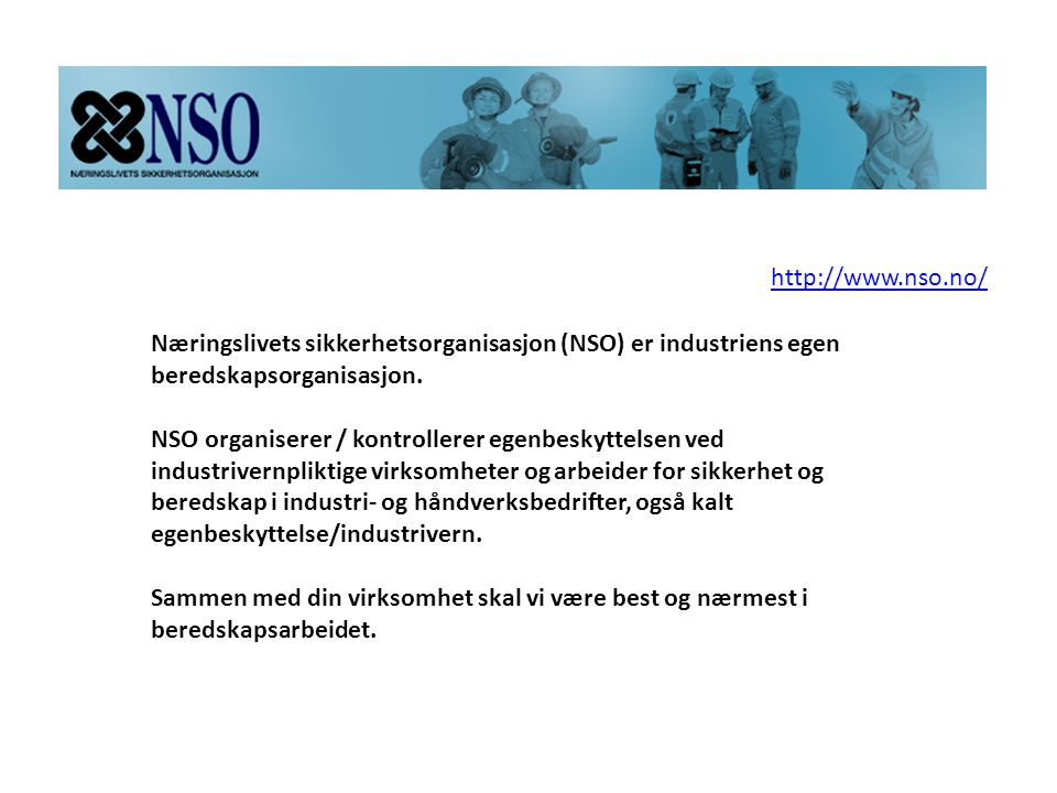 http://www.nso.no/