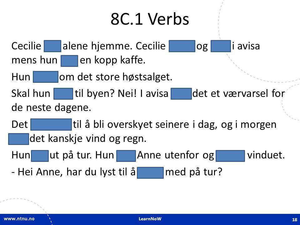 8C.1 Verbs