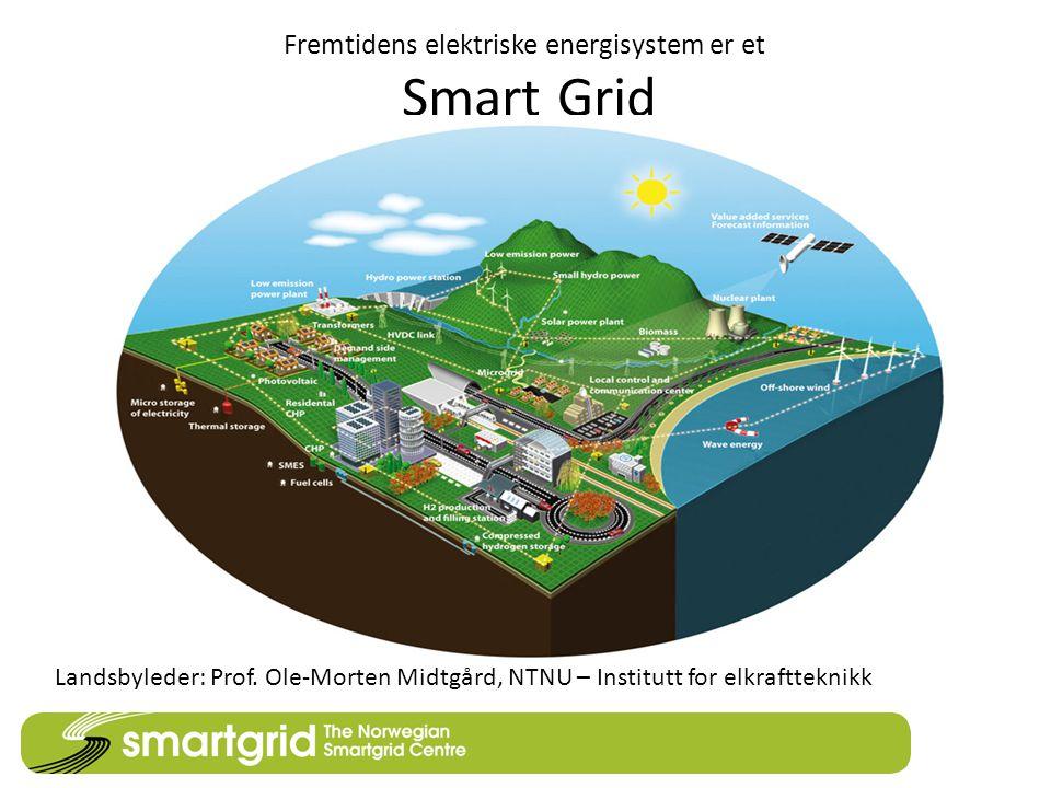 Fremtidens elektriske energisystem er et Smart Grid