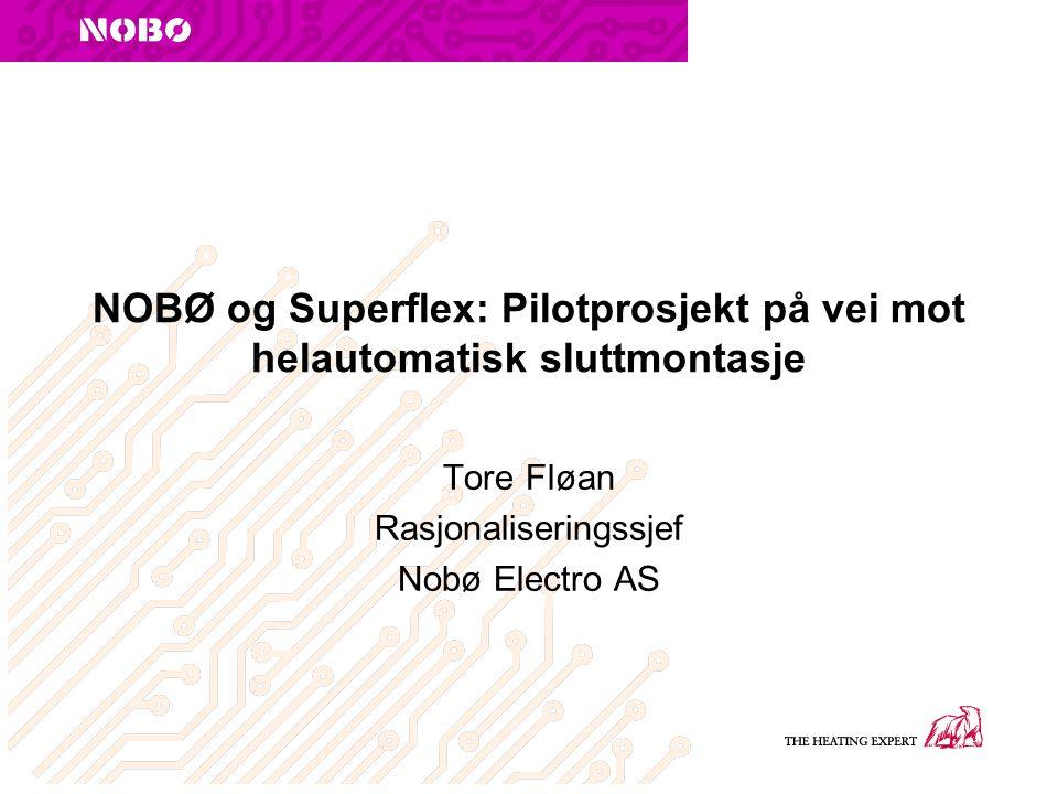 Tore Fløan Rasjonaliseringssjef Nobø Electro AS