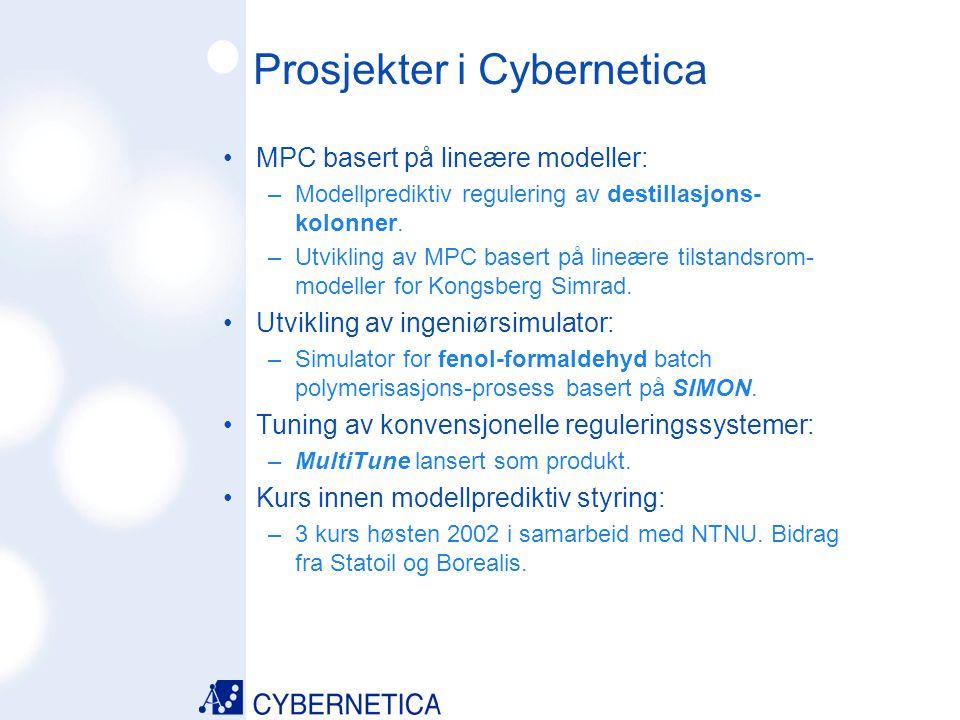Prosjekter i Cybernetica