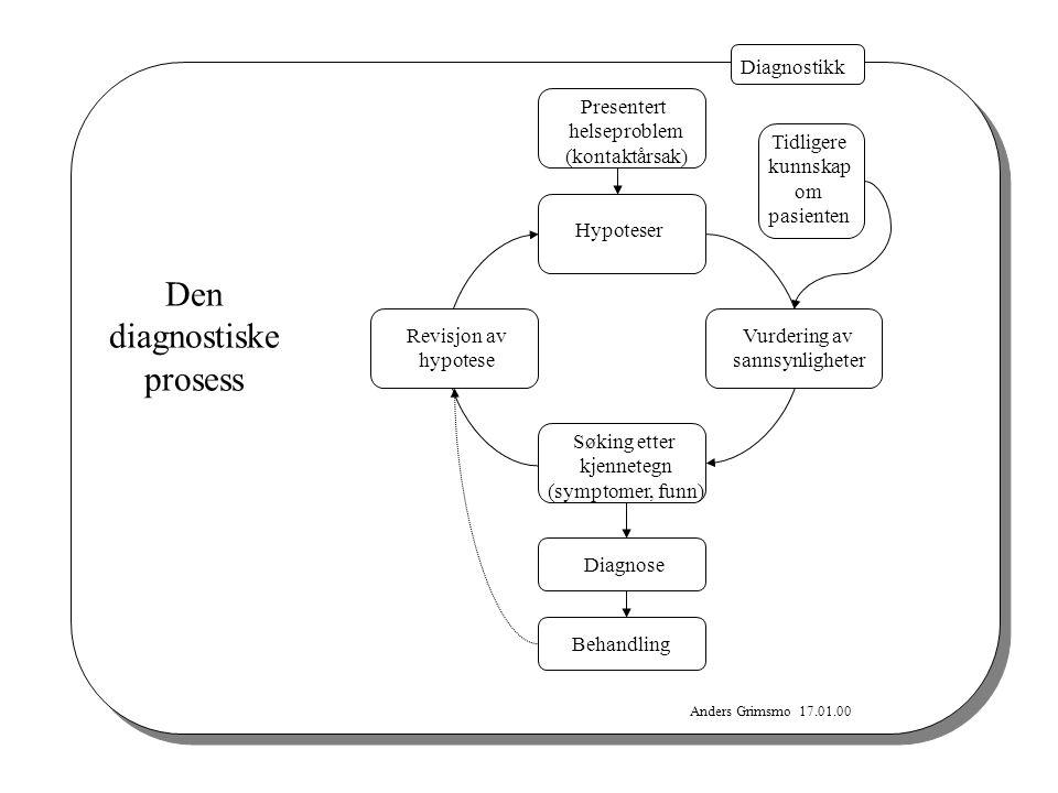 Den diagnostiske prosess