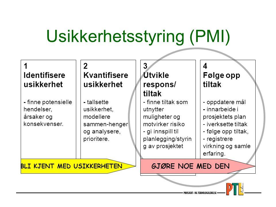 Usikkerhetsstyring (PMI)