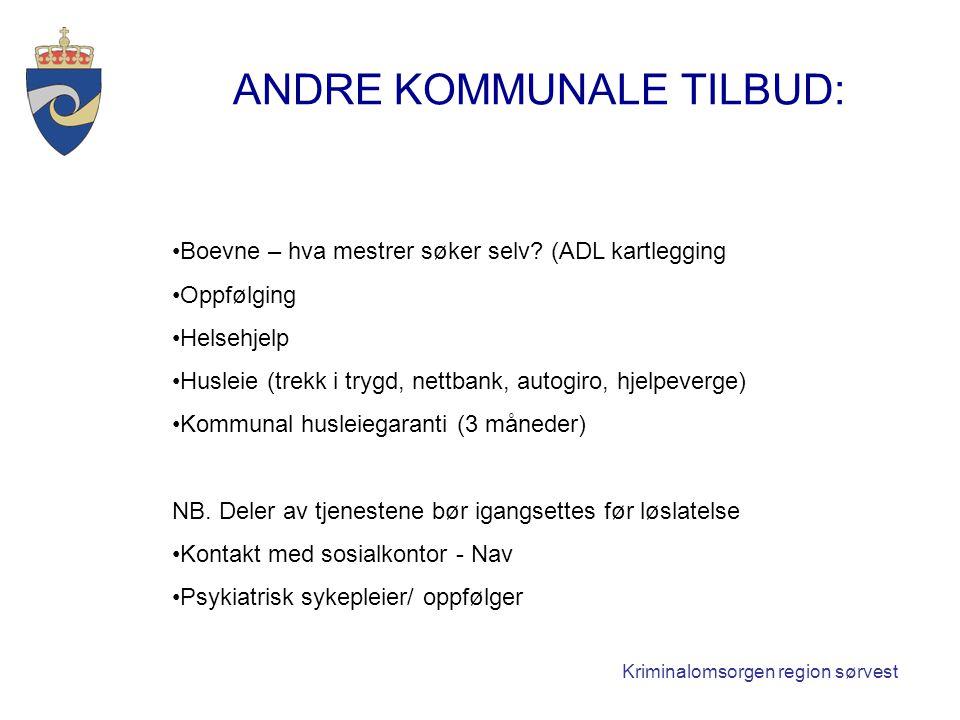 ANDRE KOMMUNALE TILBUD: