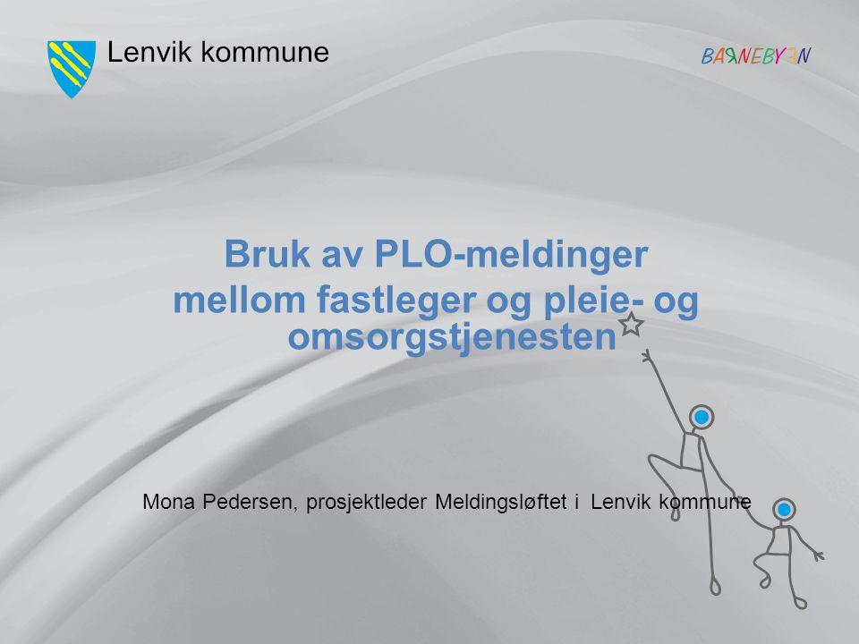 Mona Pedersen, prosjektleder Meldingsløftet i Lenvik kommune
