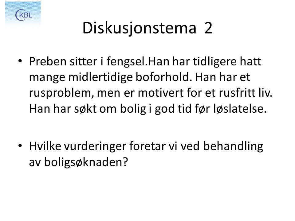 Diskusjonstema 2