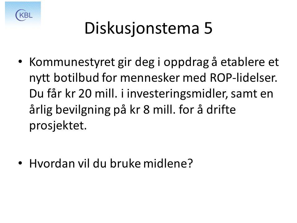 Diskusjonstema 5