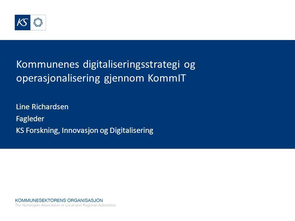 Line Richardsen Fagleder KS Forskning, Innovasjon og Digitalisering