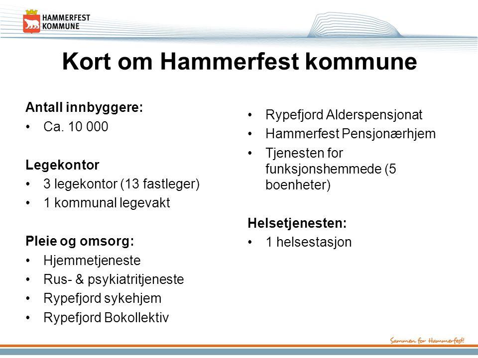 Kort om Hammerfest kommune