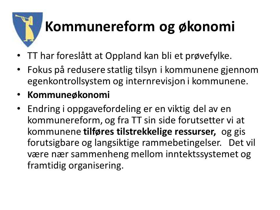 Kommunereform og økonomi