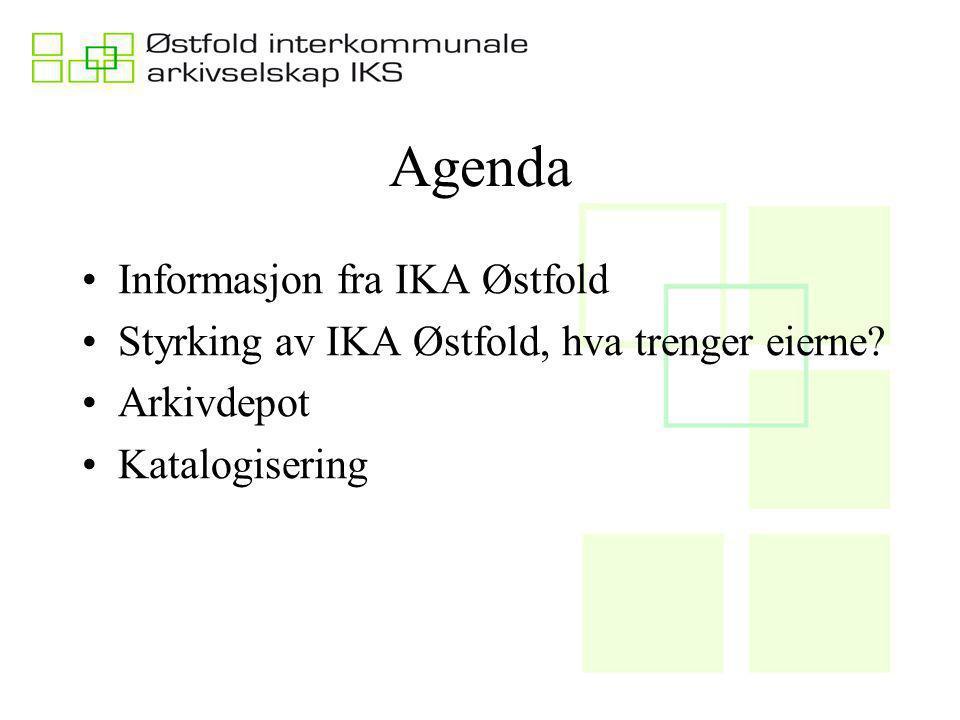 Agenda Informasjon fra IKA Østfold