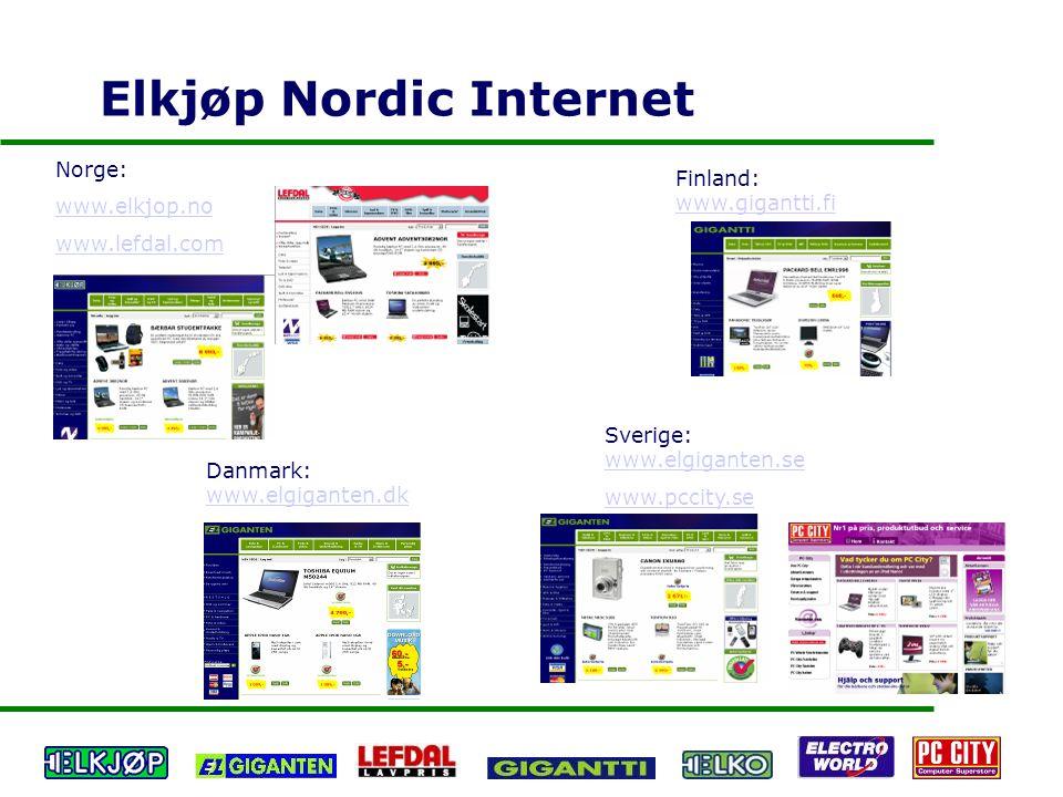 Elkjøp Nordic Internet