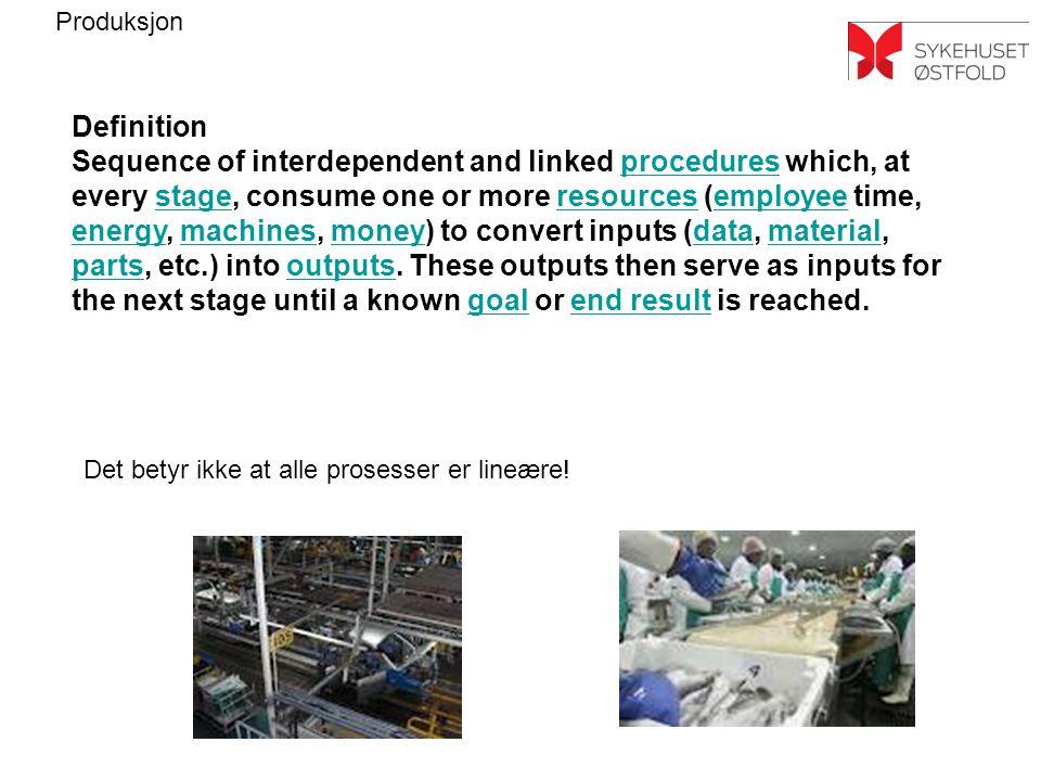 Det betyr ikke at alle prosesser er lineære!