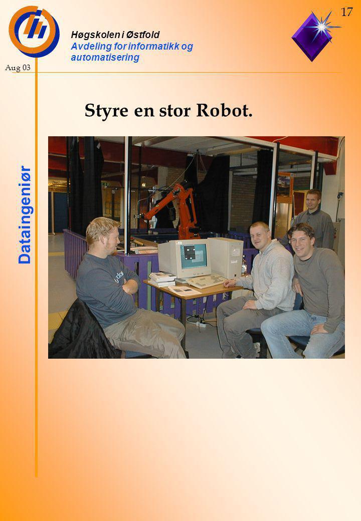 Styre en stor Robot.
