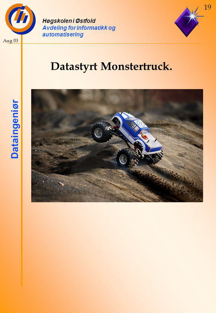 Datastyrt Monstertruck.