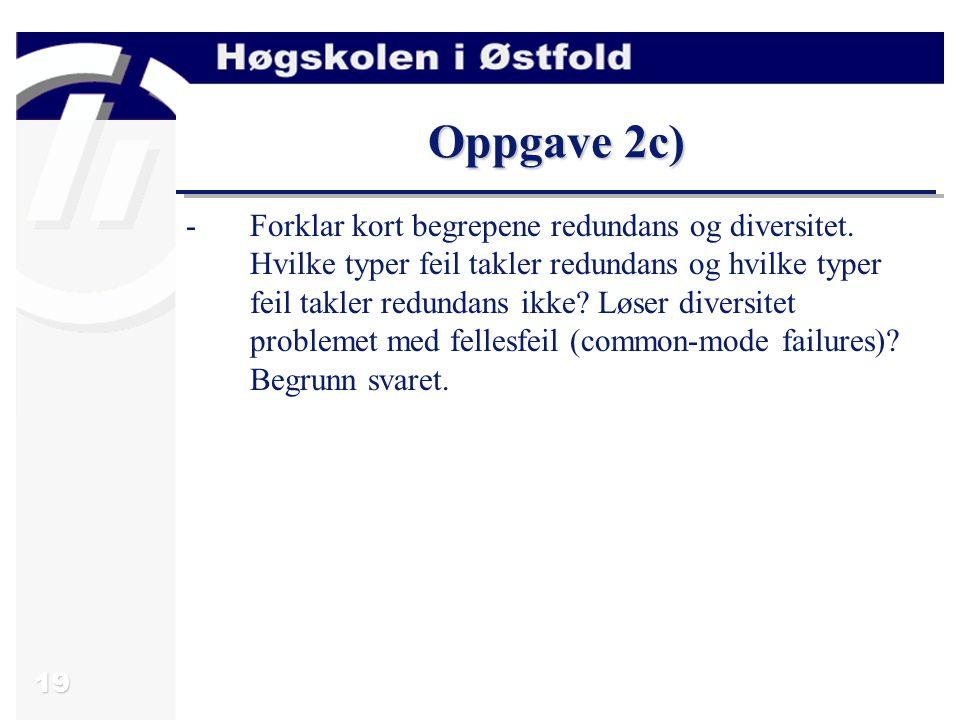 Oppgave 2c)