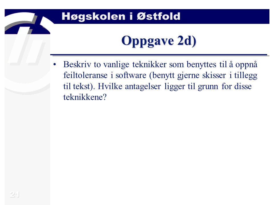 Oppgave 2d)