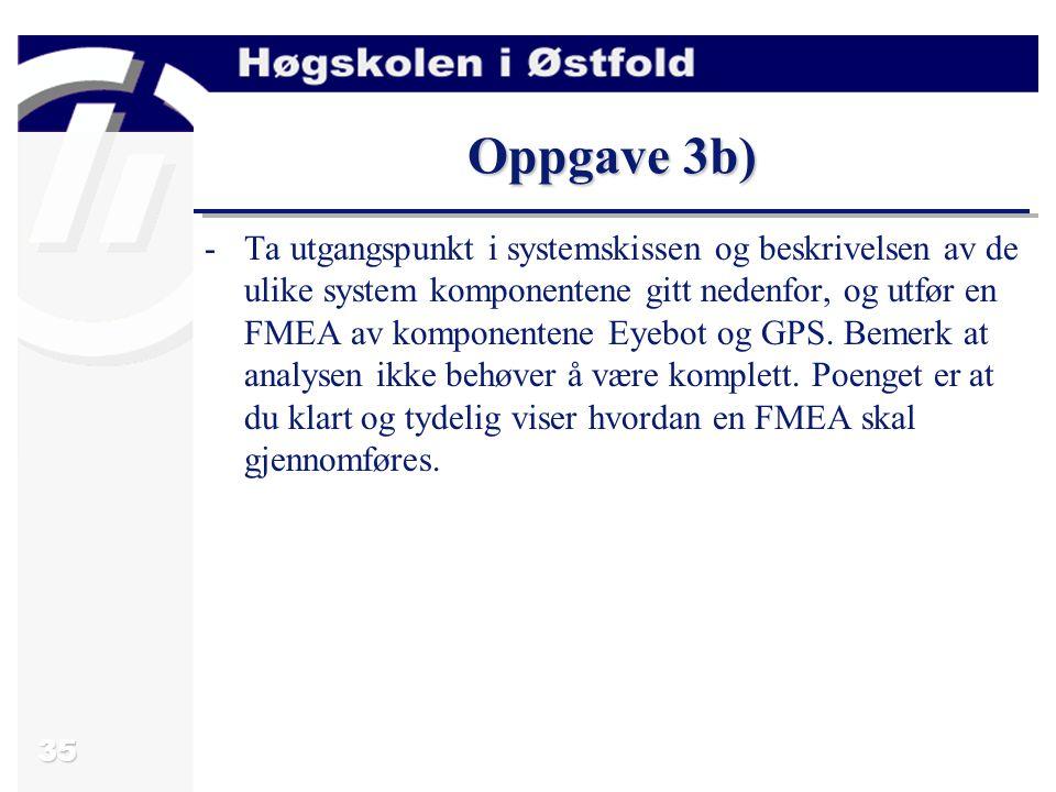 Oppgave 3b)