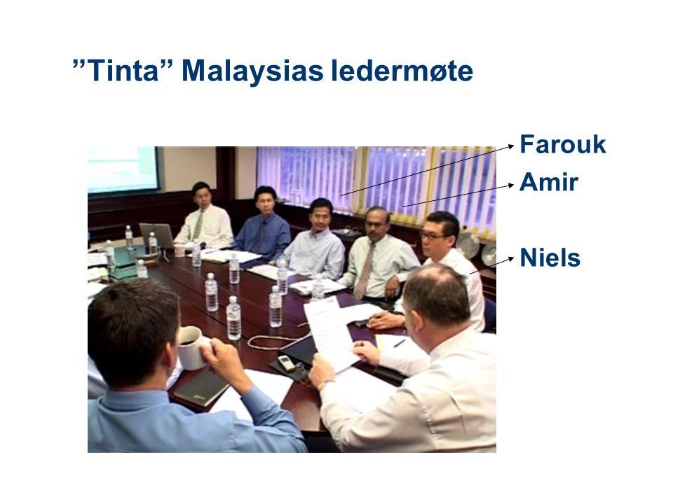 Tinta Malaysias ledermøte