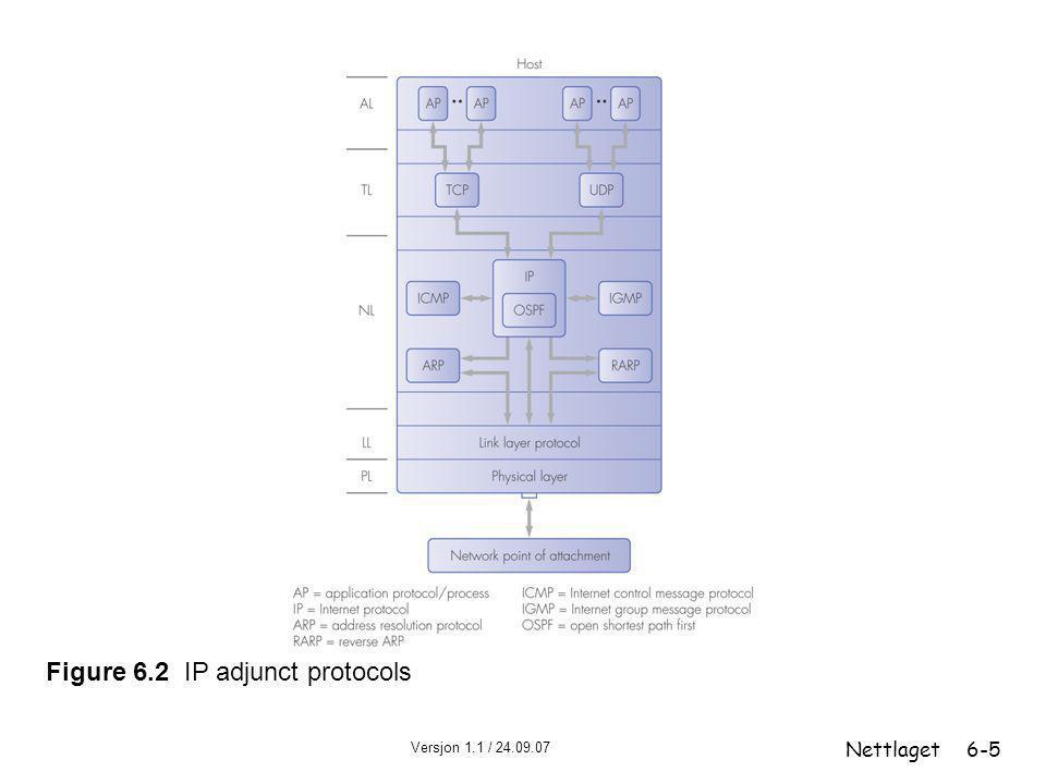 Figure 6.2 IP adjunct protocols