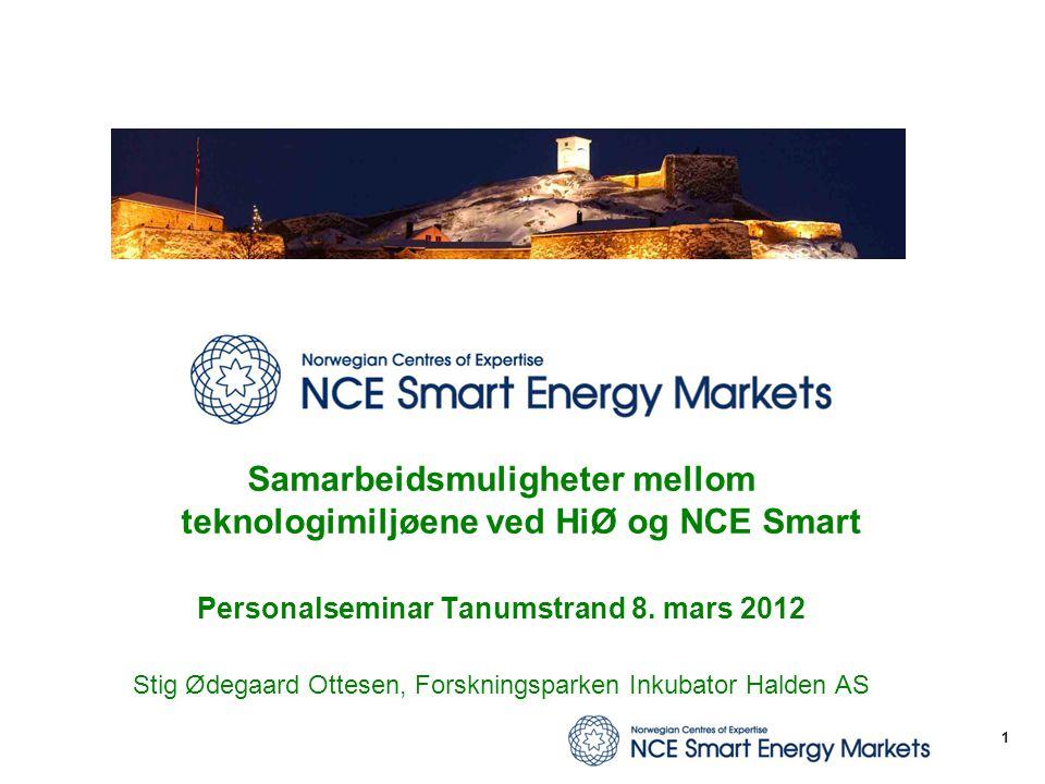 Samarbeidsmuligheter mellom teknologimiljøene ved HiØ og NCE Smart
