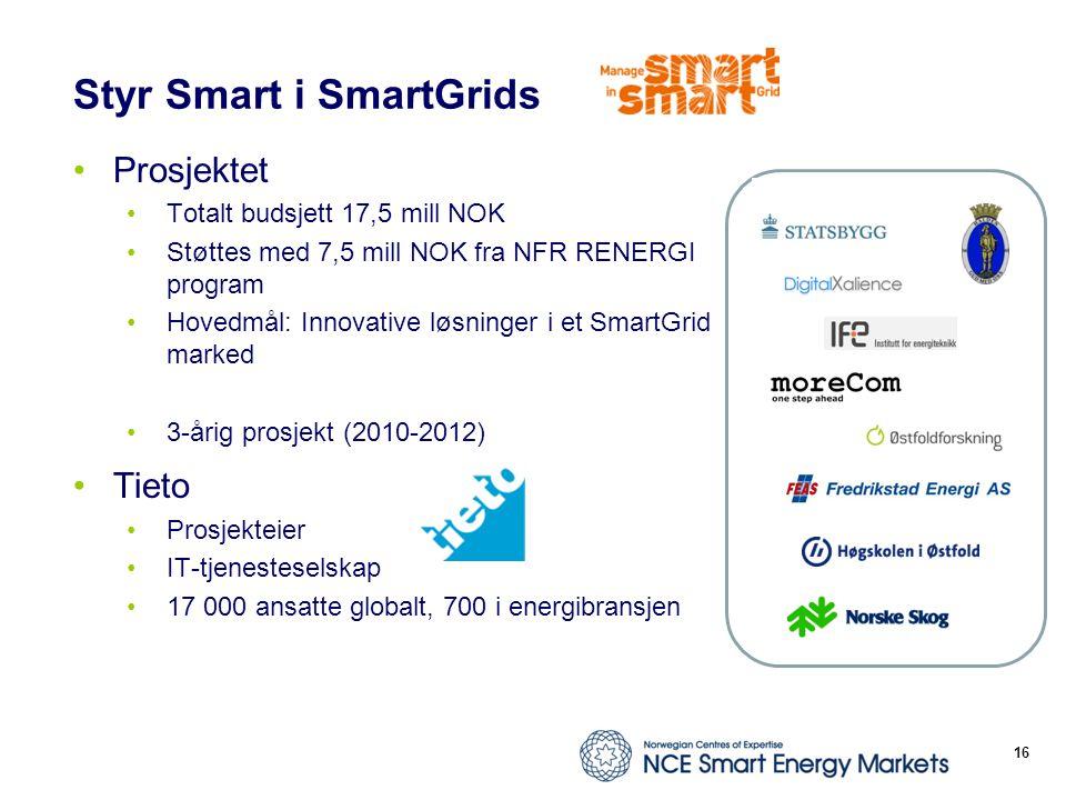 Styr Smart i SmartGrids
